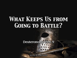 What Keeps Us from Going to Battle?