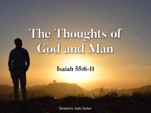 The Thoughts of God and Man