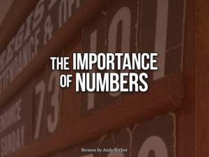 The Importance of Numbers