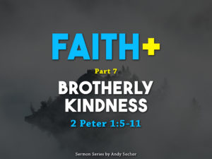 Add Brotherly Kindness