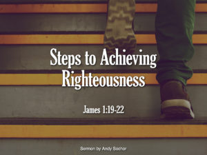 Steps to Achieving Righteousness