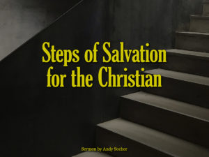 Steps of Salvation for the Christian