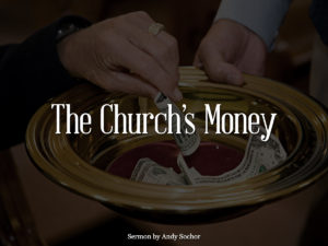 The Church's Money