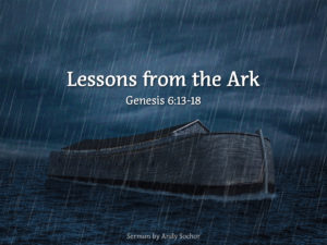 Lessons from the Ark