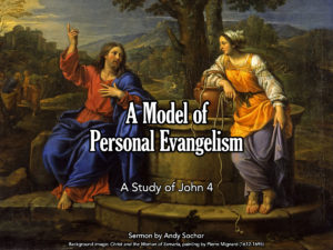 A Model of Personal Evangelism