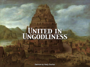 United in Ungodliness