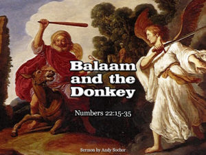 Balaam and the Donkey