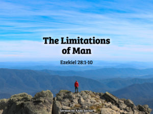 The Limitations of Man