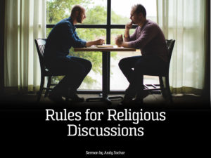 Rules for Religious Discussions