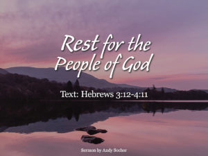 Rest for the People of God